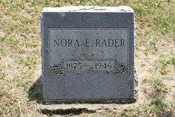 Nora Elizabeth Rader