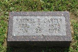 Rachel R <i>Rader</i> Carter