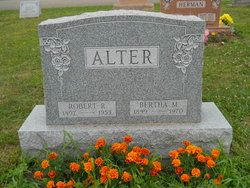 Bertha M <i>Fahey</i> Alter