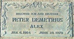 Peter Demetrius Alex