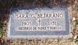 Sara <i>Garcia</i> Bejarano