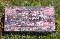 Lucinda Callie <i>Hatcher-Bagley</i> Cadwell