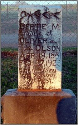 Bertha M Bertie <i>Hannson</i> Olson