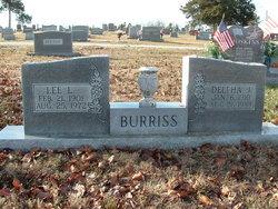 Lee L Burriss