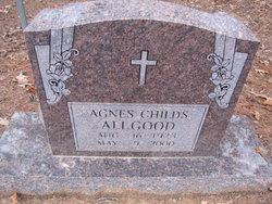Agnes <i>Childs</i> Allgood