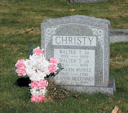 Walter T Christy