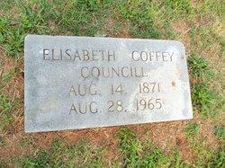 Mary Elizabeth <i>Coffey</i> Councill