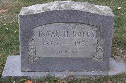 Isaac Hobert Ike Hayes