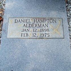 Daniel Hampton Alderman