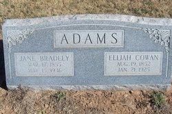 Laura Jane <i>Bradley</i> Adams