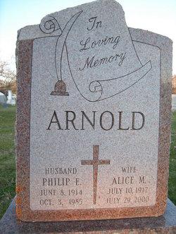Alice M. <i>Cox</i> Arnold