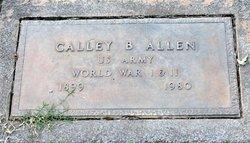 Calley B. Allen