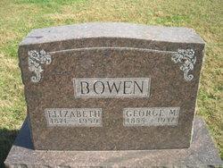 Mrs Elizabeth Permelia <i>Sprong</i> Bowen