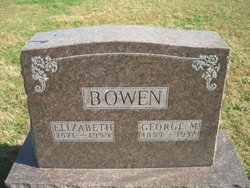George Miller Bowen