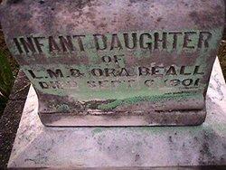 Infant Daughter Beall