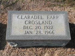 Claradel <i>Earp</i> Crosland