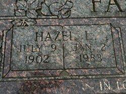 Hazel Leona <i>RECTOR</i> Failes