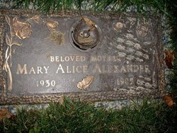 Mary Alice Alexander