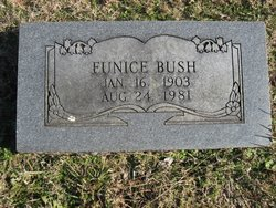Eunice <i>Dickinson</i> Bush