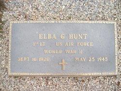 Elba Glendon Hunt