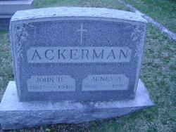 Agnes A. Ackerman