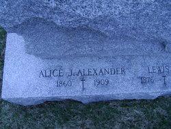 Alice <i>Joyce</i> Alexander