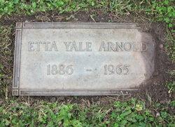 Etta <i>Yale</i> Arnold