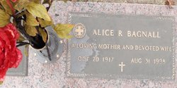 Alice R. Bagnall
