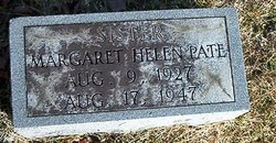 Margaret Helen Pate