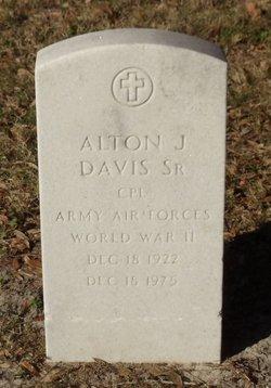 Alton J Davis, Sr