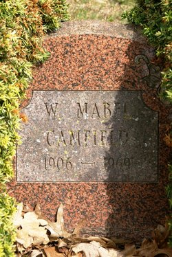 W. Mabel <i>Marvin</i> Camfield