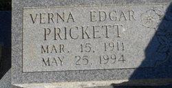 Verna <i>Edgar</i> Prickett