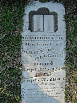 Rev Durin H Allcock