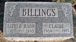 Esther <i>Hann</i> Billings