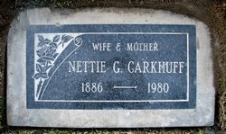 Nettie <i>Gordon</i> Carkhuff
