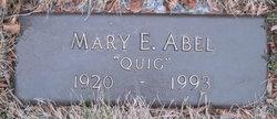 Mary E Quig <i>Quigley</i> Abel