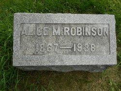 Alice M. Robinson