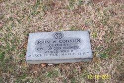 John W Conklin