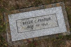 Bessie Cornilia <i>Thomas</i> Farnum