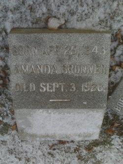 Amanda <i>Weitz</i> Brunner