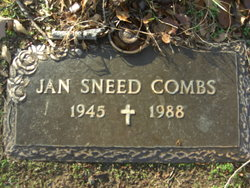 Jan <i>Sneed</i> Combs