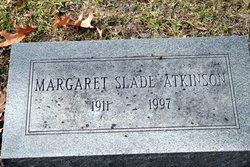 Margaret <i>Slade</i> Atkinson
