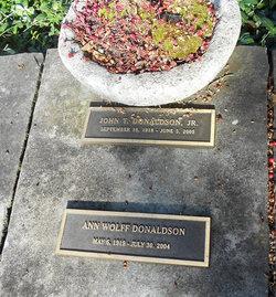 Ann Wolff Donaldson