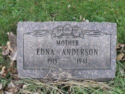 Edna Frances <i>Hissom</i> Anderson