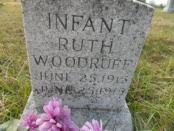 Infant Ruth Woodruff