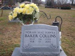 Nora Mae <i>Hawks</i> Baker Collins