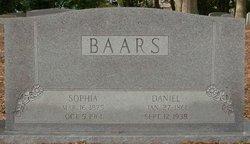 Sophia Catherine <i>Peterson</i> Baars