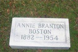 Annie <i>Branton</i> Boston