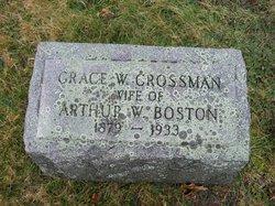 Grace Whipple <i>Crossman</i> Boston