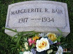 Marguerite R Bair